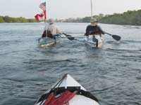 Kruger canoe catamaran