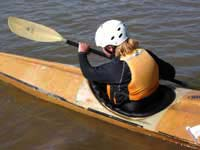 Colorado River - wildwater racing kayak