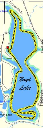 Boyd Lake speed test