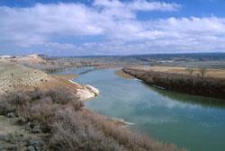 Colorado River above Cisko landing