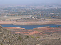 Horsetooth Reservoir from Timberline Trail