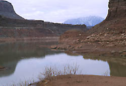 White Canyon landing