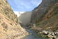 Morrow Point Dam