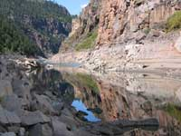 Morrow Point Reservoir