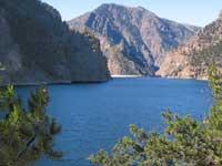 Morrow Point - dam