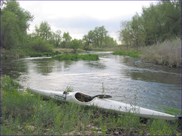 Poudre River - upstream of Harmony Rd