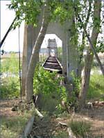 Poudre River - aqueduct