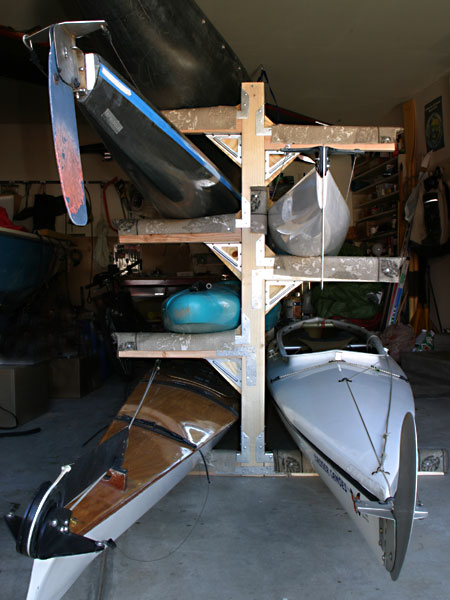 Selapa kayak storage shed plans for Canoe storage shed